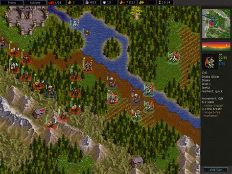 Freeware / Freegame: The Battle for Wesnoth v1