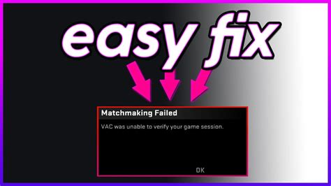 VAC Was unable to verify your game sesion?!? 2019 FIX any