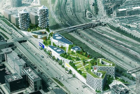 BIG's Cacti Towers Will Stand Next to New IKEA Store with