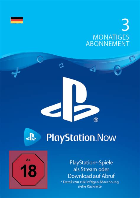 PlayStation Now 3 Monate - – Startselect