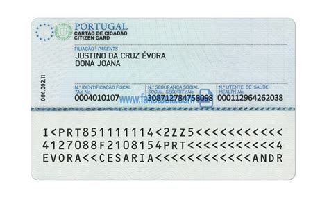 Portugal ID Card Psd Template : High quality psd template