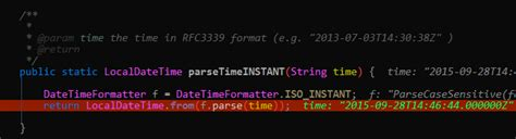 java - Parsing ISO_INSTANT and similar Date Time Strings