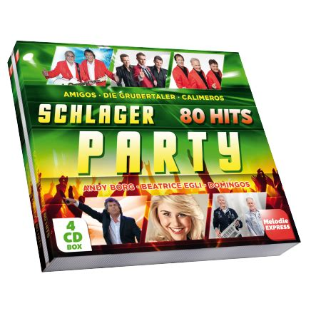Schlager Party - 80 Hits - Hannes Marold
