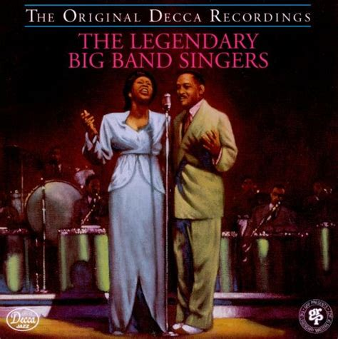 The Legendary Big Band Singers - Various Artists | Songs