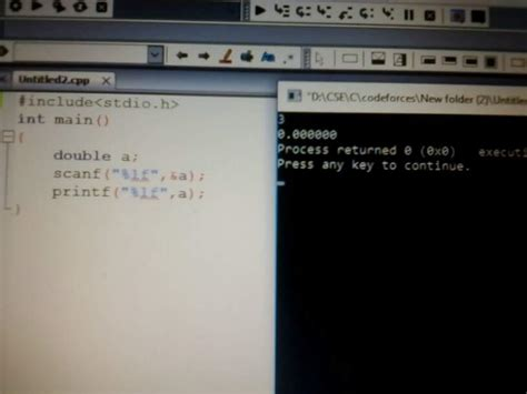 Printing Double data type in C - Stack Overflow