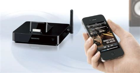 Onkyo DS-A5 grafts AirPlay on to existing home stereos