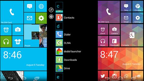 Best Android Launcher Apps to Download 2016 - Launcher 8