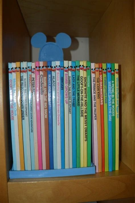 Disney Book set & book stand ( Very old ) Immaculate