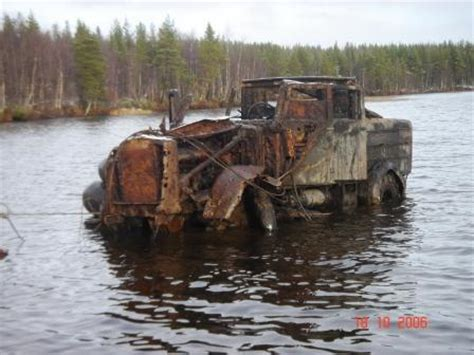 FAUN ZR, recovered from the lake in Russia
