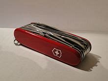 A Victorinox SwissChamp, one of the most functional Swiss