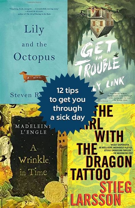 Books Are the Best Medicine: 12 Tips to Get You Through a