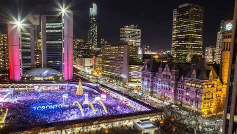 2020 New Year's Eve Celebrations at Nathan Phillips Square