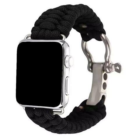 Woven Nylon Paracord Sports Band Strap For Apple Watch