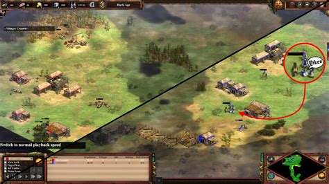 How I won my first ranked Age Of Empires 2 game | Rock