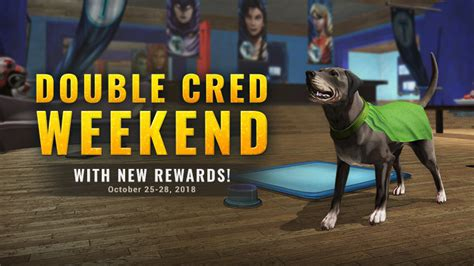Double Cred Weekend & NEW Titans Rewards! | DC Universe