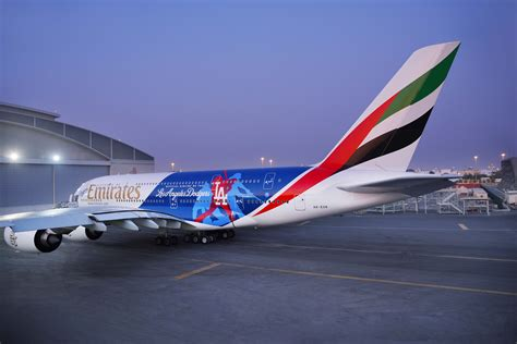 Emirates A380 Makes Twin Touch Downs in Los Angeles and Vienna