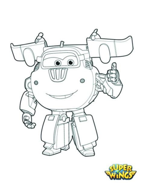 Super Wings Coloring Pages - GetColoringPages