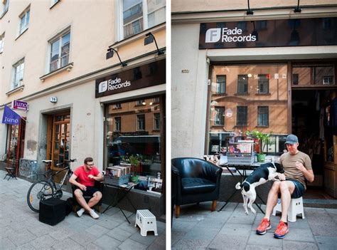 Record stores in Stockholm