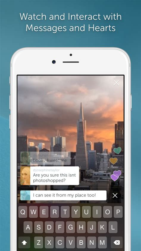 Periscope Live Video Streaming App Gets Map Section to