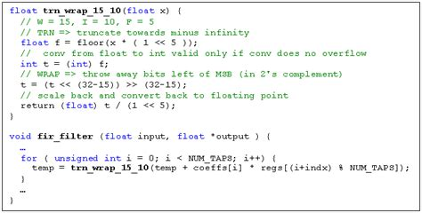 How to use arbitrary bit-widths in C++/C-based algorithm