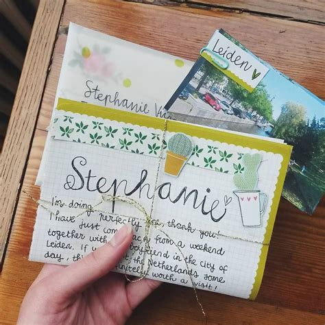 """""""Cacti themed outgoing! // @weepingwillow84 #snailmail #"""