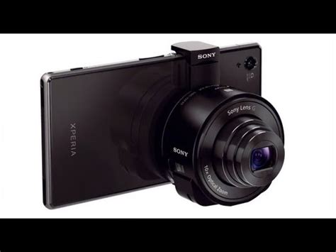 Sony launches new Cyber Shot camera lenses that attach to