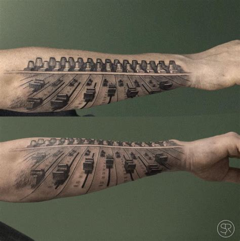 37 Perfect Musical Tattoos You'll Really Really Want