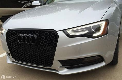 RS4 Grill Chrome Wabengrill Audi A4 S4 B8 Facelift