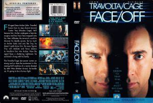 Face/Off (1997) WS R1 - Movie DVD - CD Label, DVD Cover