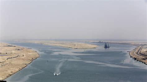 Suez Canal Expansion Opened With Pomp And Ceremony : The