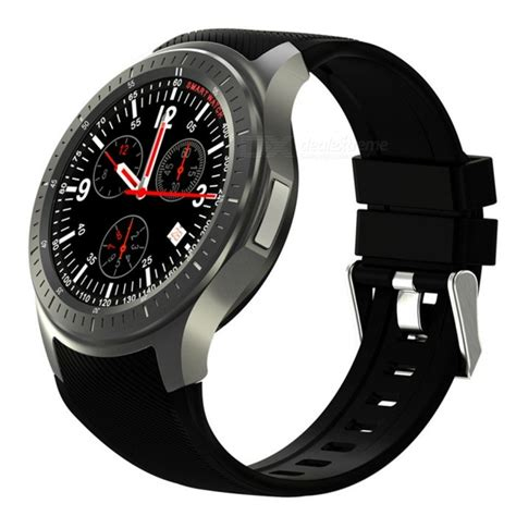 Ordro DM368 3G Full Round Screen Smart Watch w/ Heart Rate