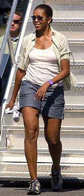 michelle obama physical weight and height