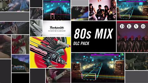 Rocksmith 2014 Edition DLC - 80s Mix Song Pack - YouTube