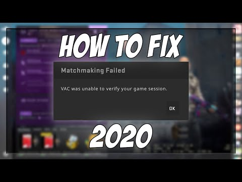 Matchmaking Failed in CS:GO, VAC Unable to Verify Game