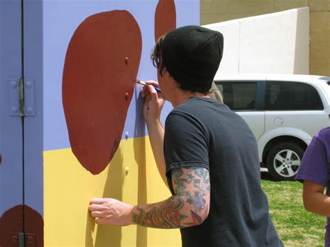 NMSU art students decorate electrical enclosures   Article